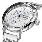 Meilleurs prix GUANQIN 16116 Full Steel Calendar Automatic Mechanical Watch