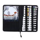 Acheter H&B Propylene Pigment 24 Colors Pigment 15 Nylon Painting Brush Palette Set Portable Nylon Packaging