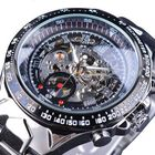 Discount pas cher Forsining S107 Fashion Men Watch 3ATM Waterproof Luminous Display Automatic Mechanical Watch