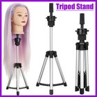Meilleur prix Adjustable Tripod Stand Salon Mannequin Head Wig Hairdressing