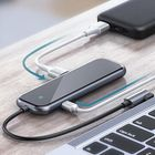Offres Flash Baseus USB-C Type-C Hub Adapter With 4 * USB 3.0 Ports + Type-C PD Charging Port For Type-C Laptop MacBook