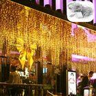 Meilleurs prix 6M*3M EU Plug Icicle Window 600 LED Curtain Starry Fairy String Light for Holiday Wedding Chrismas Decor AC220V