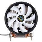 Recommandé CPU Cooling Fan 12nm 6 Cooper Pipes 12 RGB Color Changing Air Cooler Fan for Intel 2011