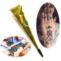 Black Henna Tattoo Pigment Temporary Tattoo For Body Art