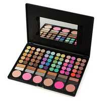 78 Color Makeup Eyeshadow Blush Palette Set