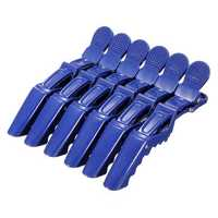 Salon Hairdressing Blue Crocodile Sectioning Clip