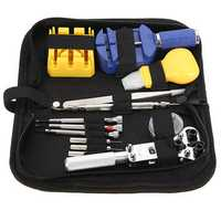 Watch Repair Tool Kit Set Case Opener Link Spring Bar Tweezer