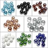 10X Gorgeous Glass Marbles 16mm Beads Balls Fish Tank Decoration