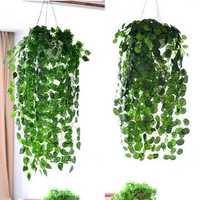 3.7ft Artificial Ivy Leaf Garland Plants