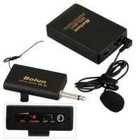 Bolun WR-601 Microphone Transmitter Receiver Set with Microphone