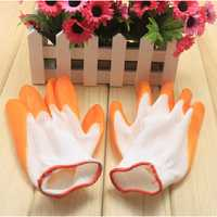 Nylon Nitrile Rubber Gardening Gloves Labor Safety Working Gloves