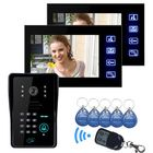 Recommandé ENNIO SY806MJIDS12 LCD Video Door Phone With IR Camera & Code Keypad