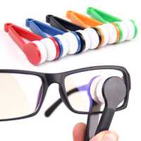 Sun Glassess Glasses Eyeglasseess Microfiber Brush Cleaner Tool