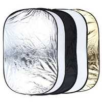 24 x 36 Inch 5 In 1 Portable Studio Photo Collapsible Light Reflector