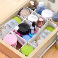 Drawer Clapboard Divider Cabinet DIY Storage Box Organizer
