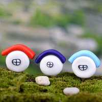 Colorful Mini House Micro Landscape Garden DIY Decoration