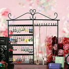 Bon prix 10 Hooks 48 Holes Earrings Necklace Jewelry Display Rack Holder Stand