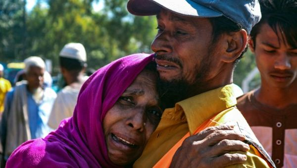 Bangladesch bringt 100.000 Flüchtlinge auf Insel
