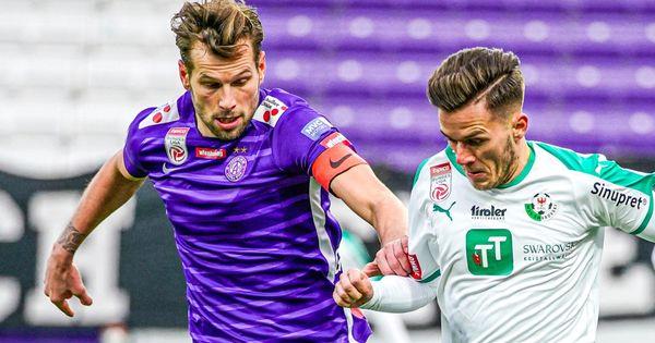 LIVE ab 17 Uhr: Austria Wien gegen WSG Tirol