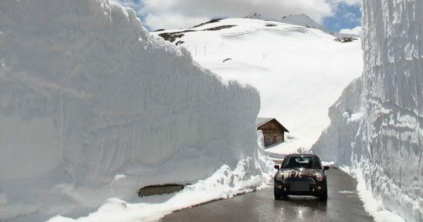 Kampf dem Schnee: Freie Fahrt übers Timmelsjoch