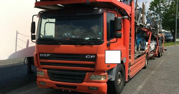 Bulgarischer Rost-Lkw aus dem Verkehr gezogen