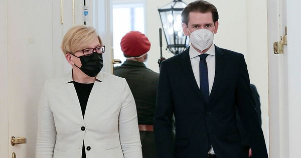 """Kurz und Simonyte für """"gezielte Sanktionen"""""""