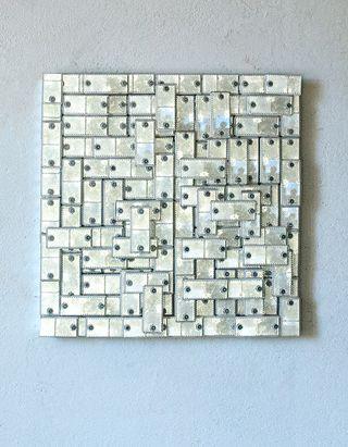 Weißes Quadrat
