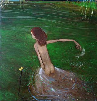 Grünes Gewässer