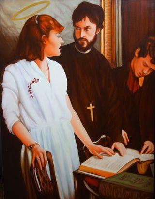 Maria erklärt die Bibel