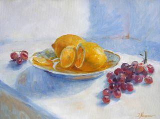 Stillleben mit Citronen