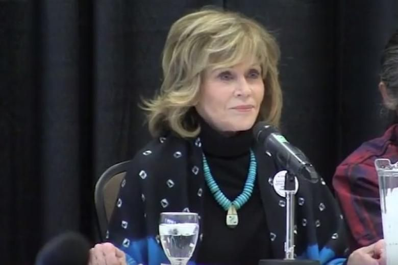 Jane Fonda Rips Justin Trudeau: Don't Be Fooled by 'Good-Looking Liberals'