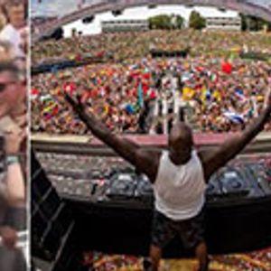 Шекил О'Нил се појави на Tomorrowland и направи луда журка