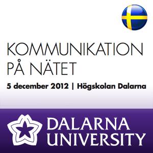 KPN12 Janne Elvelid - Svenskarna och Internet, internetvanor och lärande