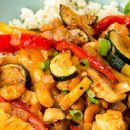 """Ориз"" от карфиол с пиле и кашу"