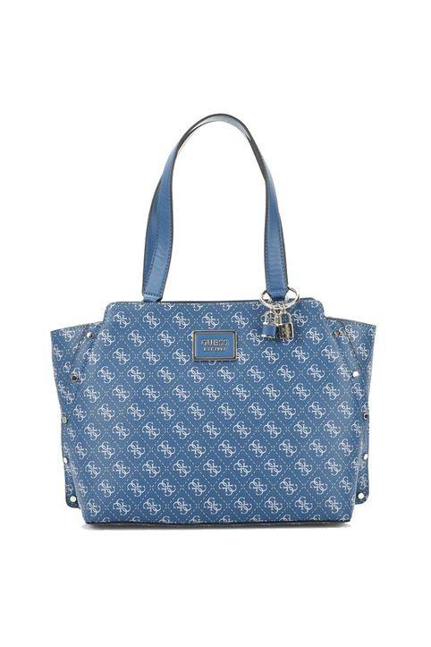 Guess Γυναικεία Τσάντα Tyren 4G Logo Shopper HWSG7966230