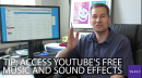 Pogue's Basics: Access YouTube's free music and sound effects
