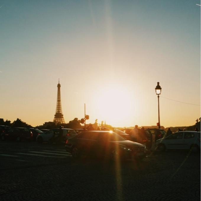 浪漫又美麗的巴黎~是天堂<3 五天僅花四千五!(含住宿車費餐飲喔!)
