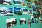 旅行紀念品~名信片與水晶球。每次旅程中不能少的習慣!