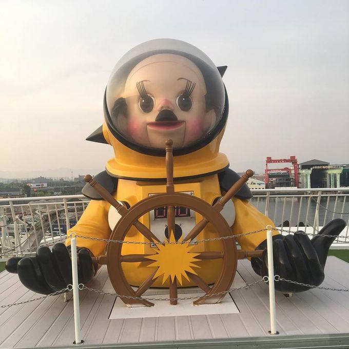 我從神戶坐通宵船到小豆島。