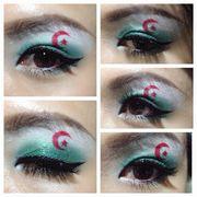 專題 - 世界盃 開鑼 32強國旗化妝 資料介紹 (1)阿爾及利亞(Algeria)