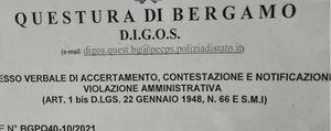 Corteo per l'ospedale di San Giovanni Bianco: arrivano le prime sanzioni ai sindaci della valle