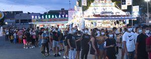 Debutta il Luna Park alla Celadina: ed è subito un successo