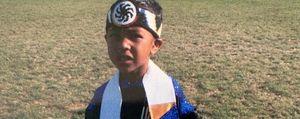 Allen, nativo americano  Guardatelo da bambino