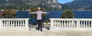 Metti un ristorante  a 50 metri d'altezza  «Spot per Bellagio»