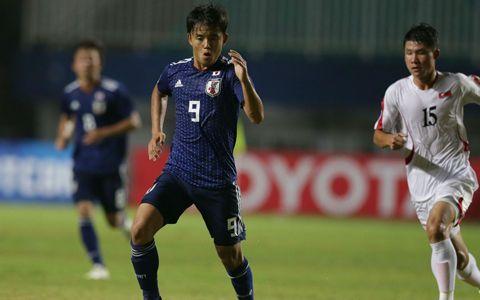 U-19日本代表、久保建英の決勝FK弾で白星スタート!! 北朝鮮を相手に5-2で勝利の代表サムネイル