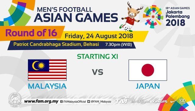 ◆アジア大会◆R16 日本×マレーシア 日本押されつつも上田がPKを決めて逃げ切りR8への代表サムネイル