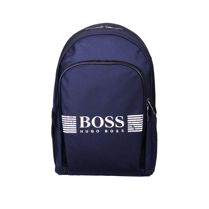 BOSS GREEN Τσάντα backpack PIXELW 06981 ΜΠΛΕ