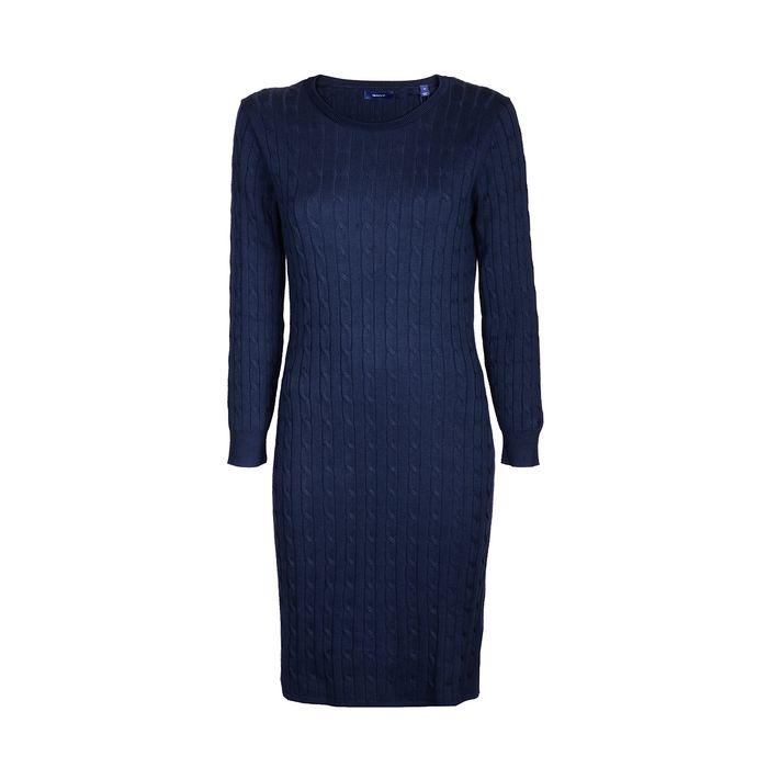 GANT Φόρεμα πλεκτό 3GW450942-433 ΜΠΛΕ