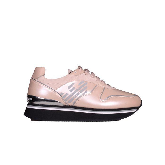 EMPORIO ARMANI Παπούτσια Sneaker X3X046 XM063 ΡΟΖ
