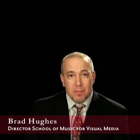 School of Music for Visual Media Director Welcome
